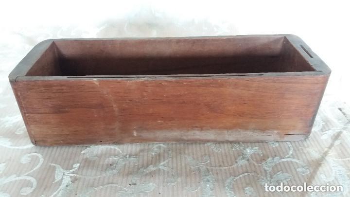 Antiquitäten: Pareja de habitáculos para cajones de mesa de máquina de coser y un cajón, ppios XX - Foto 13 - 148037562