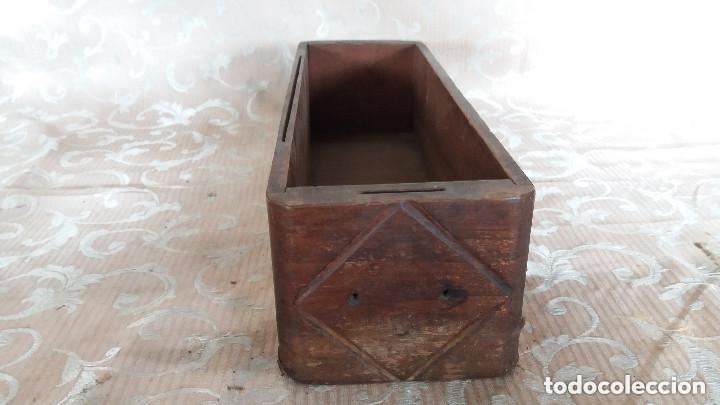 Antiquitäten: Pareja de habitáculos para cajones de mesa de máquina de coser y un cajón, ppios XX - Foto 14 - 148037562