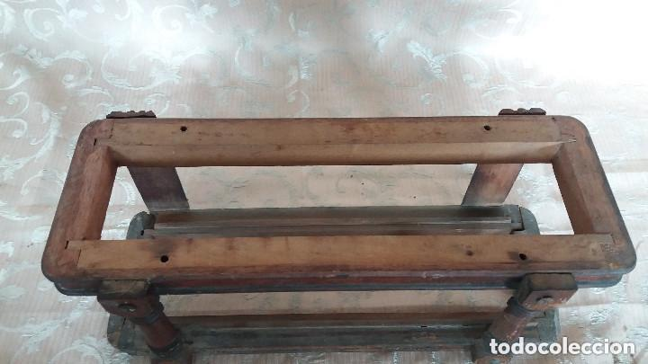 Antiquitäten: Pareja de habitáculos para cajones de mesa de máquina de coser y un cajón, ppios XX - Foto 17 - 148037562