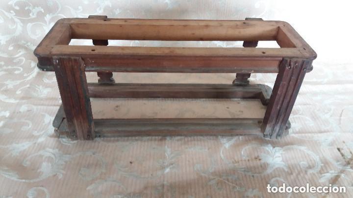 Antiquitäten: Pareja de habitáculos para cajones de mesa de máquina de coser y un cajón, ppios XX - Foto 18 - 148037562