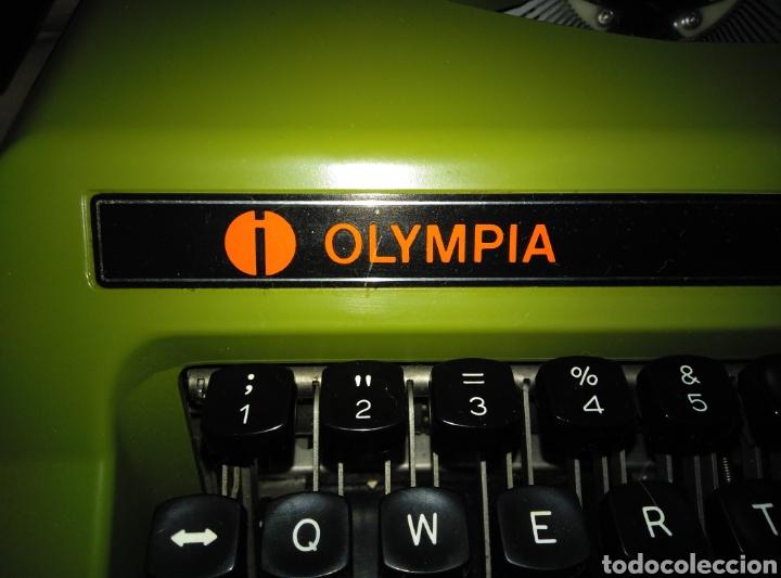 MAQUINA DE ESCRIBIR (Antigüedades - Técnicas - Máquinas de Escribir Antiguas - Olympia)