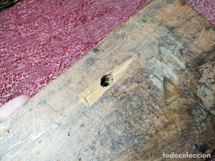 Antigüedades: antigua bascula balanza bronce de precision farmacia 1967 firmada satish toweigh 117 gr..class c - Foto 37 - 148165078