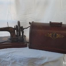 Antigüedades: ANTIGUA MÁQUINA COSER SINGER S. XIX. Lote 148170790