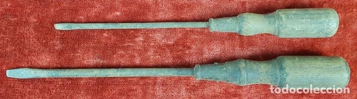 Antigüedades: CONJUNTO DE HERRAMIENTAS DE CARPINTERÍA Y EBANISTERÍA. SIGLO XIX-XX - Foto 4 - 148259278