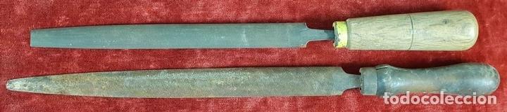 Antigüedades: CONJUNTO DE HERRAMIENTAS DE CARPINTERÍA Y EBANISTERÍA. SIGLO XIX-XX - Foto 6 - 148259278