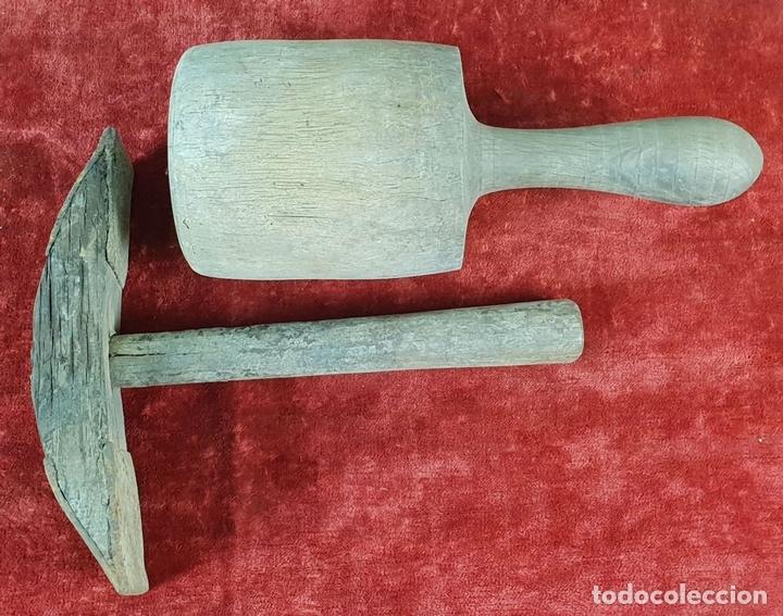 Antigüedades: CONJUNTO DE HERRAMIENTAS DE CARPINTERÍA Y EBANISTERÍA. SIGLO XIX-XX - Foto 12 - 148259278