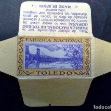 Antigüedades: HOJA DE AFEITAR ANTIGUA,TOLEDO-FABRICA NACIONAL (DESCRIPCIÓN). Lote 154879813