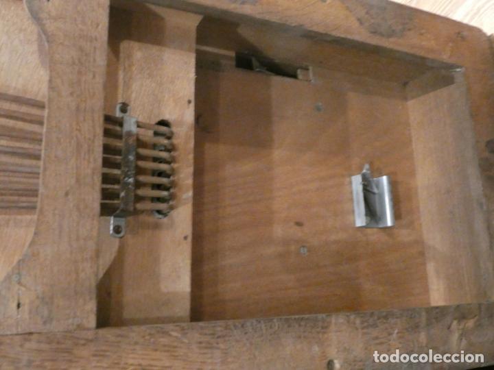 Antigüedades: Antigua caja registradora Alemana, Olten. Timbre que hace de alarma y clave secreta de apertura. - Foto 6 - 148294842