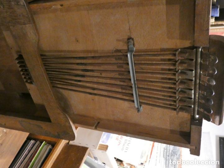 Antigüedades: Antigua caja registradora Alemana, Olten. Timbre que hace de alarma y clave secreta de apertura. - Foto 7 - 148294842