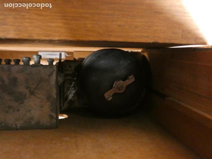 Antigüedades: Antigua caja registradora Alemana, Olten. Timbre que hace de alarma y clave secreta de apertura. - Foto 8 - 148294842