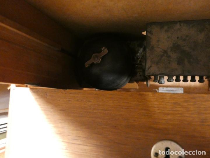 Antigüedades: Antigua caja registradora Alemana, Olten. Timbre que hace de alarma y clave secreta de apertura. - Foto 9 - 148294842