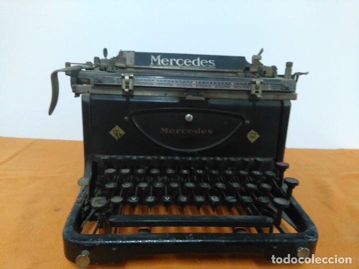 ANTIGUA MÁQUINA DE ESCRIBIR MERCEDES (Antigüedades - Técnicas - Máquinas de Escribir Antiguas - Mercedes)