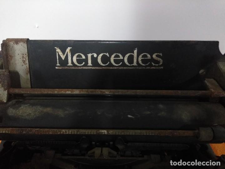 Antigüedades: ANTIGUA MÁQUINA DE ESCRIBIR MERCEDES - Foto 6 - 148301682