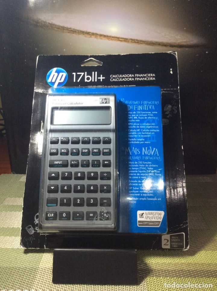 Antigüedades: CALCULADORA HP 17 B II FINANCIERA ¡ NUEVA ! HP 17B - Foto 3 - 82359596