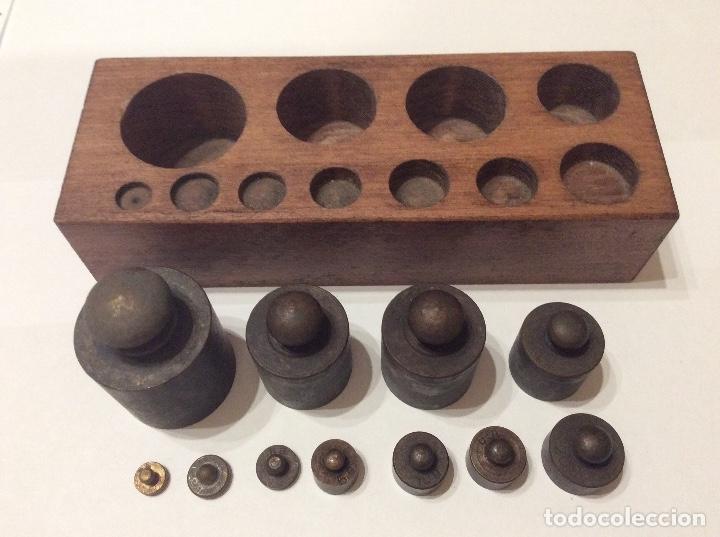 PESAS BALANZA (Antiquitäten - Technische - Waagen und Gewichte - Antike Balkenwaagen)