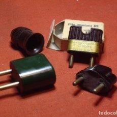 Antigüedades: MATERIAL ELECTRICO - BAQUELITA. Lote 148415326