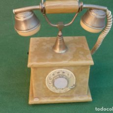 Teléfonos: ANTIGUO TELÉFONO DE MÁRMOL. Lote 148439030