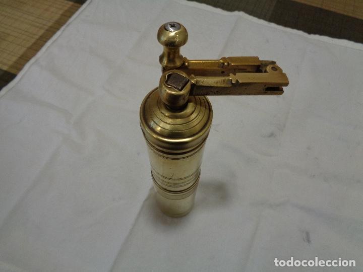 Antigüedades: Molinillo o molino de café en bronce años 40 - Foto 2 - 148462802