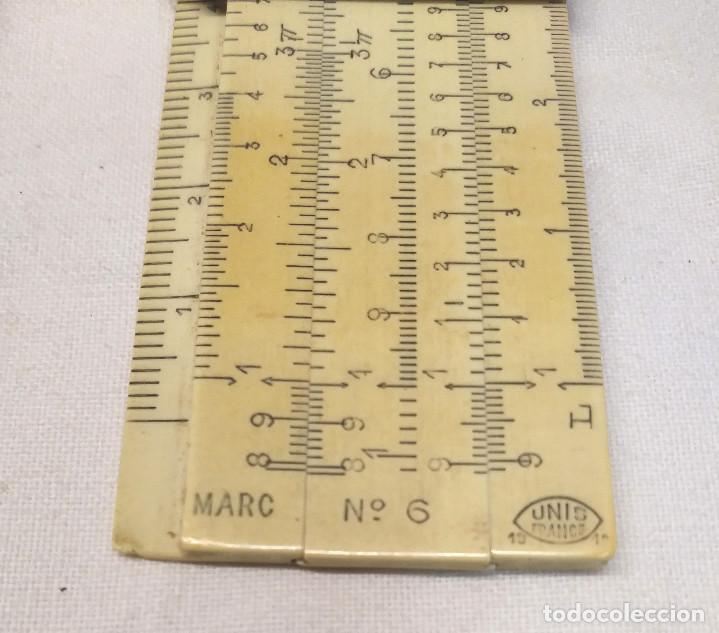 Antigüedades: Escalimetro nº 6 Unis Francia, buen estado - Foto 2 - 148494098