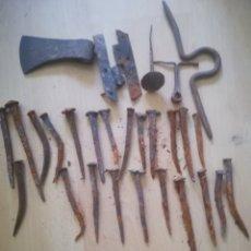Antigüedades: CLAVOS FORJA. Lote 148550876