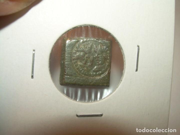 Antigüedades: ANTIGUO PONDERAL DE BRONCE...REYES CATOLICOS. - Foto 4 - 148590510