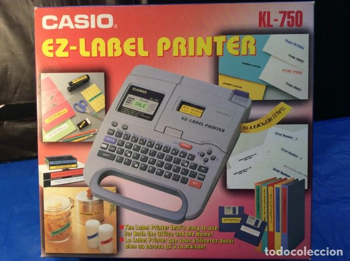CALCULADORA CASIO KL 750 ¡¡ETIQUETADO!! ¡¡NUEVO!! (VER FOTOS) (Antigüedades - Técnicas - Aparatos de Cálculo - Calculadoras Antiguas)