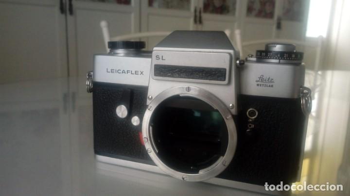 Antigüedades: Leica Leitz Wetzlar LEICAFLEX SL Summicron-R 50mm - Foto 3 - 137681414