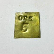 Antigüedades: PESA INGLESA 5 GRS. Lote 148789130