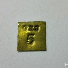 Antigüedades: PESA INGLESA 5 GRS. Lote 148789162
