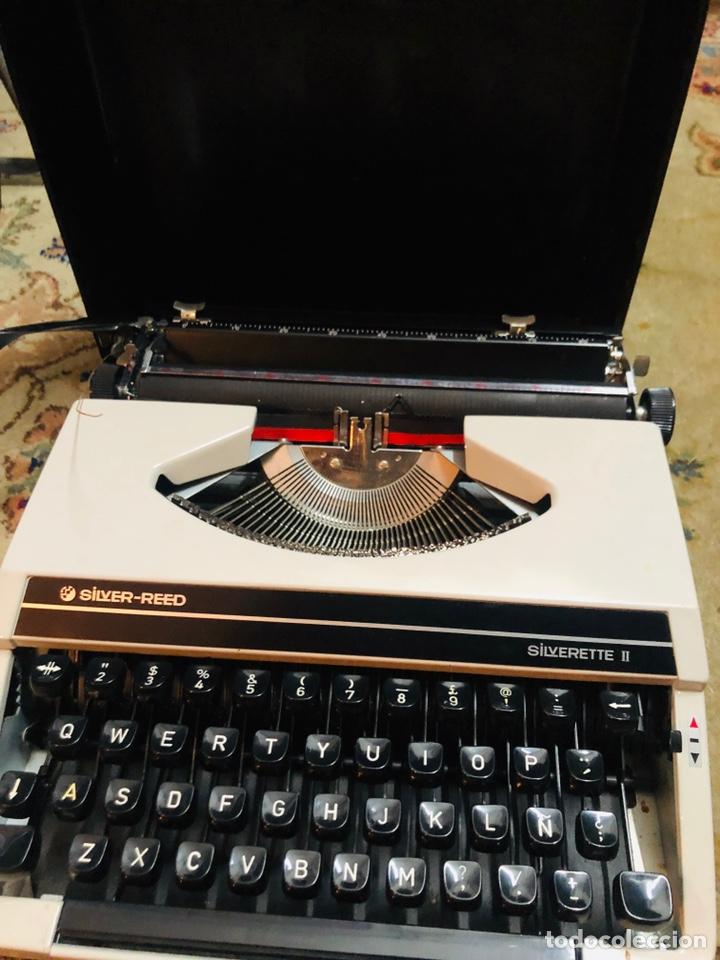 Antigüedades: Máquina de escribir silver-reed - Foto 3 - 148950282