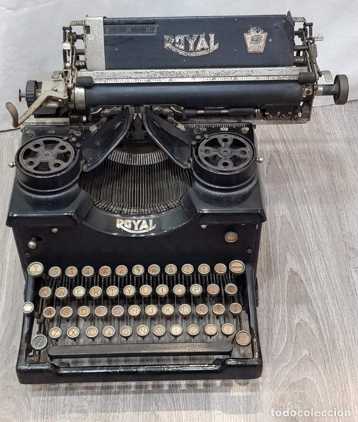 MÁQUINA DE ESCRIBIR ROYAL (Antigüedades - Técnicas - Máquinas de Escribir Antiguas - Royal)