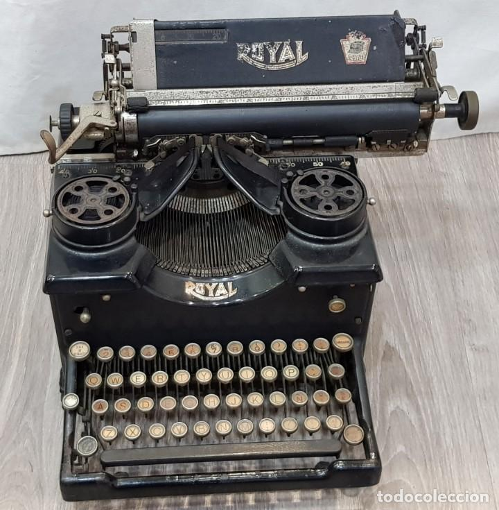 Antigüedades: Máquina de escribir Royal - Foto 2 - 148952170