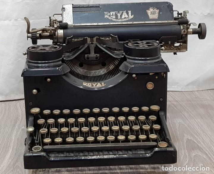 Antigüedades: Máquina de escribir Royal - Foto 3 - 148952170