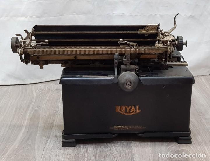 Antigüedades: Máquina de escribir Royal - Foto 7 - 148952170