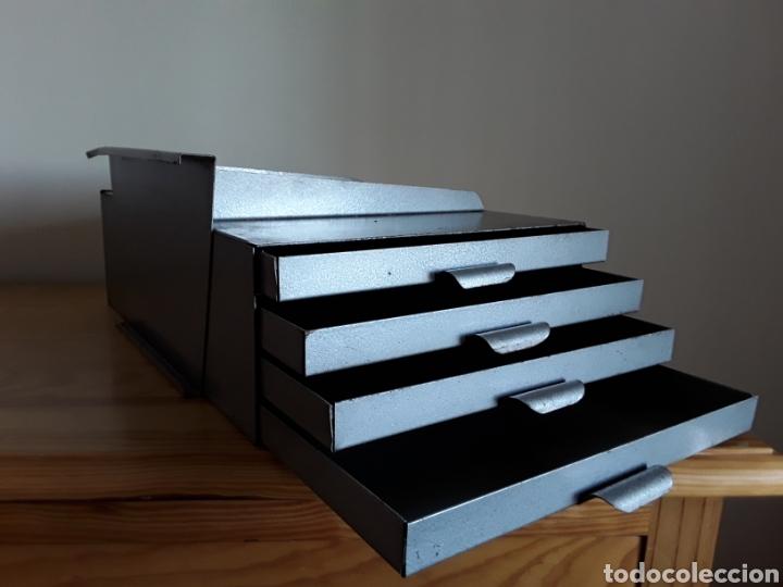 Antigüedades: Cajonera para mesa máquina escribir - Foto 2 - 148998018