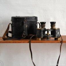 Antigüedades: ANTIGUOS PRISMÁTICOS MARCA WETZLAR CON SU FUNDA ORIGINAL. Lote 149219698