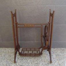 Antigüedades: PIES MAQUINA DE COSER SIGMA.. Lote 149263390