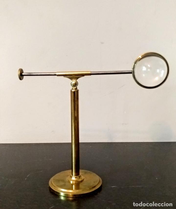 CONDENSADOR DE LUZ OJO DE TORO BULLS EYE C.1850. (Antigüedades - Técnicas - Otros Instrumentos Ópticos Antiguos)