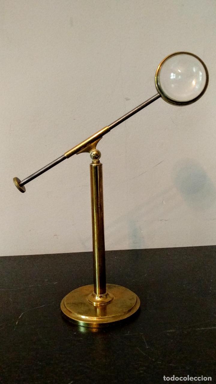 Antigüedades: Condensador de luz Ojo de Toro Bulls eye c.1850. - Foto 2 - 54113450