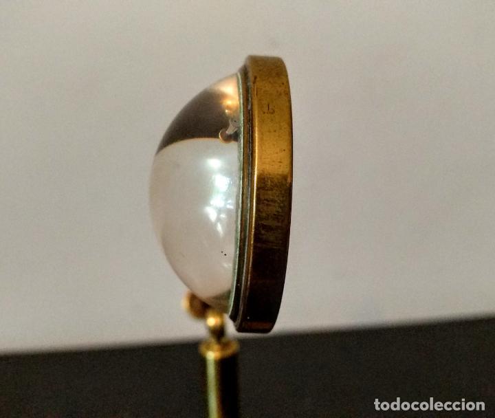 Antigüedades: Condensador de luz Ojo de Toro Bulls eye c.1850. - Foto 4 - 54113450