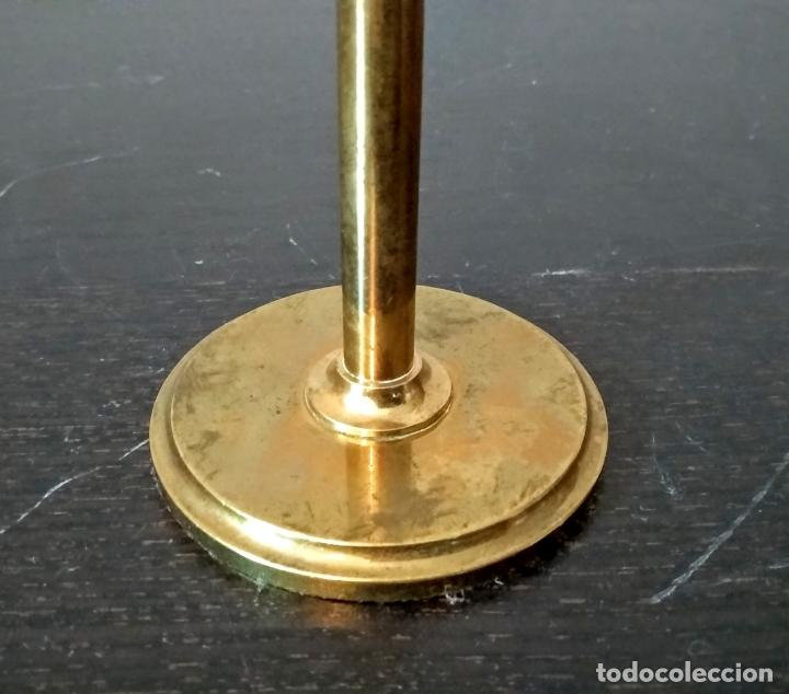 Antigüedades: Condensador de luz Ojo de Toro Bulls eye c.1850. - Foto 5 - 54113450