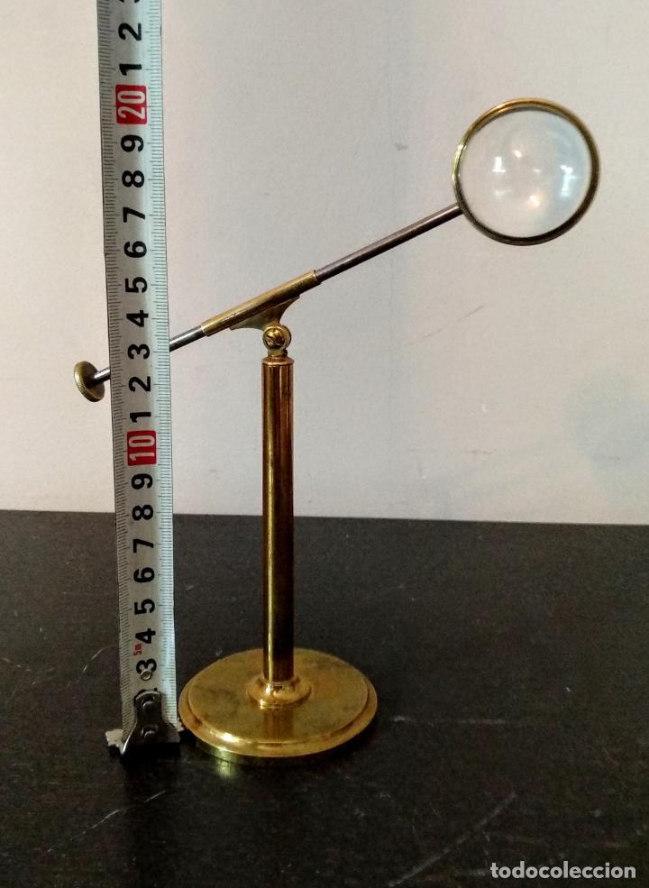 Antigüedades: Condensador de luz Ojo de Toro Bulls eye c.1850. - Foto 9 - 54113450