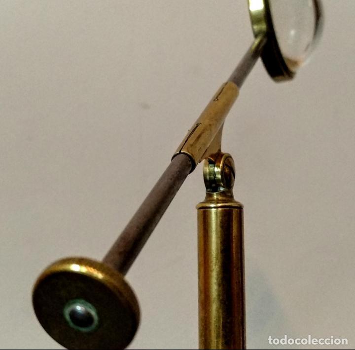 Antigüedades: Condensador de luz Ojo de Toro Bulls eye c.1850. - Foto 11 - 54113450