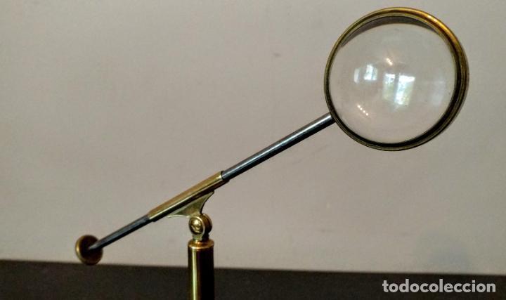 Antigüedades: Condensador de luz Ojo de Toro Bulls eye c.1850. - Foto 12 - 54113450