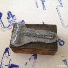 Antigüedades: TAMPON SELLO IMPRENTA. Lote 149329810