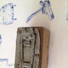 Antigüedades: TAMPON SELLO IMPRENTA. Lote 149330650