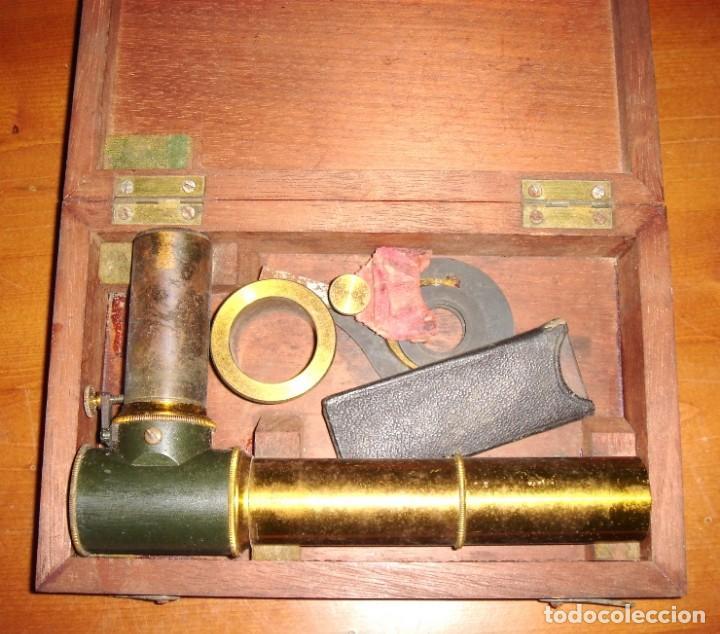ANTIGUO INSTRUMENTO OPTICO, IGNORO FINALIDAD (Antigüedades - Técnicas - Otros Instrumentos Ópticos Antiguos)