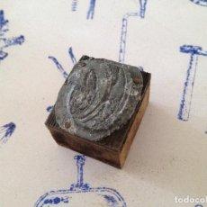 Antigüedades: TAMPON SELLO IMPRENTA. Lote 149331006