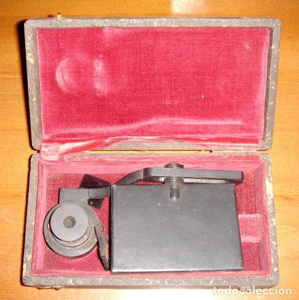 ANTIGÜO INSTRUMENTO ÓPTICO, IGNORO FINALIDAD (Antigüedades - Técnicas - Otros Instrumentos Ópticos Antiguos)
