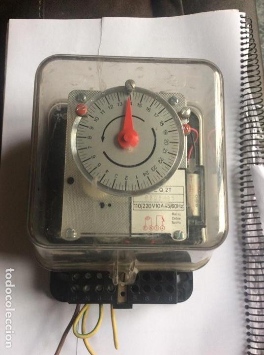 RELOJ INTERRUPTOR (Antigüedades - Técnicas - Herramientas Profesionales - Electricidad)